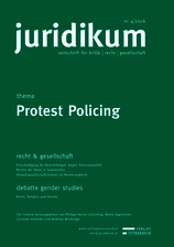 juridikum 4/2016: Protest Policing