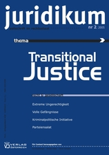 juridikum 2/2005: Transitional Justice
