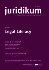 juridikum 2/2017: Legal Literacy