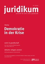 juridikum 1/2013: Demokratie in der Krise