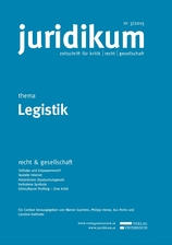 juridikum 3/2015: Legistik